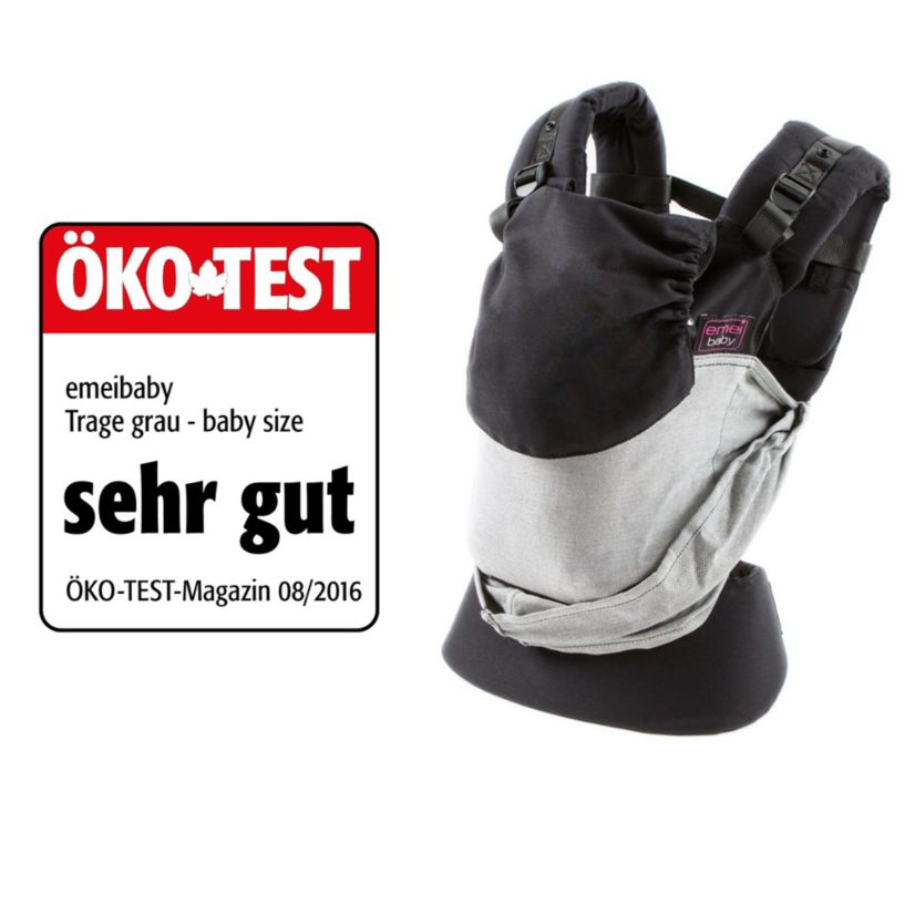 emeibaby babycarrier Gray Baby Size